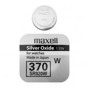Батарейка Maxell SR920W 370 1,55В дисковая 1шт