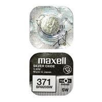 Батарейка для часов Maxell SR920SW 371 1,55В дисковая 1шт