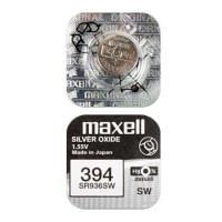 Батарейка для часов Maxell SR936SW 394 1,55В дисковая 1шт