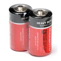 Батарейка Minamoto Heavy Duty солевая C 1,5В 24шт