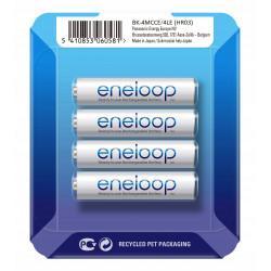 Аккумуляторы Panasonic Eneloop AAA 750мАч BK-4MCCE/4LE 4шт