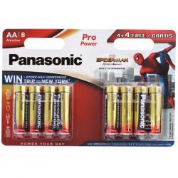 Батарейки алкалиновые Panasonic Pro Power Spider-Man АА LR6 8шт