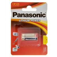 Батарейка Panasonic Lithium Power CR123 3В литиевая 1шт
