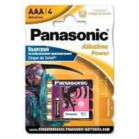 Батарейки Panasonic Alkaline Power Cirque Du Soleil AAA 4шт