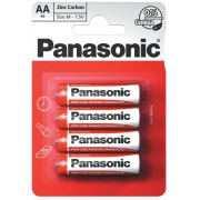 Батарейки солевые Panasonic Zinc Carbon R6RZ/4BP АА R6 48шт