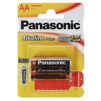 Батарейки алкалиновые Panasonic Alkaline Power AA LR6 1,5В 2шт