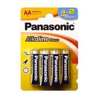 Батарейки алкалиновые Panasonic Alkaline Power AA LR6 6шт