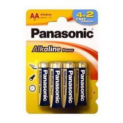 Батарейки алкалиновые Panasonic Alkaline Power AA LR6 6шт