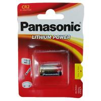 Батарейка Panasonic Lithium Power CR2 3В литиевая 1шт