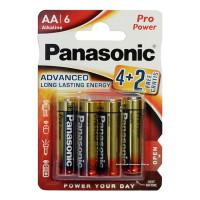 Батарейки алкалиновые Panasonic Pro Power AA LR6 1,5В 6шт