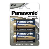 Батарейки алкалиновые Panasonic Everyday Power D LR20 1,5В 2шт