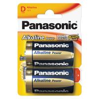 Батарейки алкалиновые Panasonic Alkaline Power D LR20 1,5В 2шт