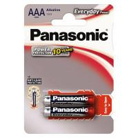 Батарейки алкалиновые Panasonic Everyday Power AAA LR03 1,5В 2шт