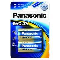 Батарейки алкалиновые Panasonic Evolta C LR14 1,5В 2шт
