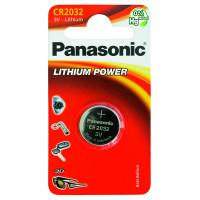 Батарейка литиевая Panasonic Lithium Power CR2032 3В дисковая 1шт