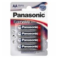 Батарейки алкалиновые Panasonic Everyday Power AA LR6 1,5В 4шт