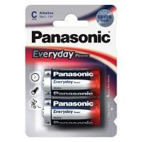 Батарейки алкалиновые Panasonic Everyday Power C LR14 1,5В 2шт