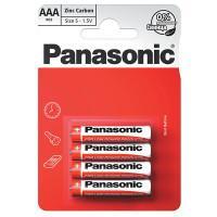 Батарейки солевые Panasonic Zinc Carbon AAA R03 1,5В 4шт