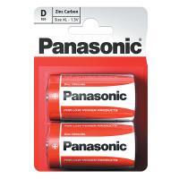 Батарейка солевая Panasonic Zinc Carbon D LR20 1,5В 24шт