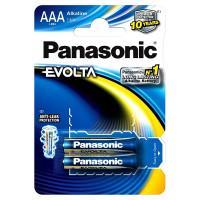 Батарейки алкалиновые Panasonic Evolta AAA LR03 1,5В 2шт