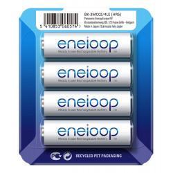 Аккумуляторы Panasonic Eneloop AA 1900мАч BK-3MCCE/4LE 4шт