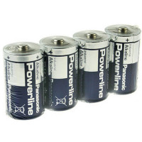 Батарейки алкалиновые Panasonic Powerline Industrial D LR20 24шт