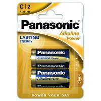 Батарейки алкалиновые Panasonic Alkaline Power C LR14 1,5В 2шт
