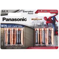 Батарейка Panasonic Everyday Power Spider Man AA 8шт
