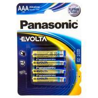 Батарейки алкалиновые Panasonic Evolta LR03EGE/4BP AAA LR6 1,5В 4шт