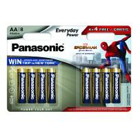 Батарейки Panasonic Everyday Power Spider Man AAA 8шт