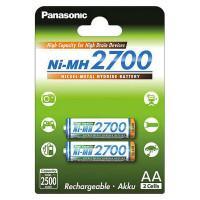 Аккумуляторы Ni-MH Panasonic High Capacity AA 2700мАч 1,2В 2шт