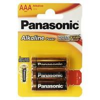 Батарейки алкалиновые Panasonic Alkaline Power AAA LR03 1,5В 6шт