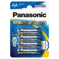 Батарейки алкалиновые Panasonic Evolta AA LR6 1,5В 4шт