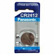 Батарейка Panasonic Lithium CR2412 3В дисковая литиевая 1шт