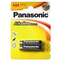 Батарейки алкалиновые Panasonic Alkaline Power AAA LR03 1,5В 2шт