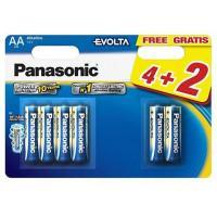 Батарейки алкалиновые Panasonic Evolta LR6EGE/6BW AA LR6 1,5В 6шт