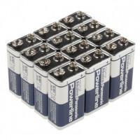 Батарейки алкалиновые Panasonic Powerline Industrial 6LR61 Крона 9В 12шт