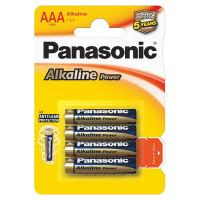 Батарейки алкалиновые Panasonic Alkaline Power AAA LR03 1,5В 4шт