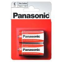 Батарейки солевые Panasonic Zinc Carbon C LR14 1,5В 2шт