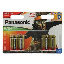 Батарейки алкалиновая Panasonic Pro Power AAA LR03 1,5В Cirque Du Soleil 16шт