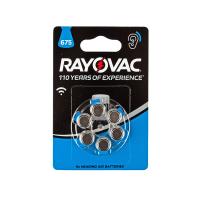 Батарейки Rayovac 675 PR44 1,45В для слухового аппарата 6шт (блистер 120х80 мм)