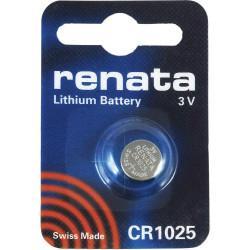 Батарейка RENATA CR1025 3В дисковая литиевая 1шт
