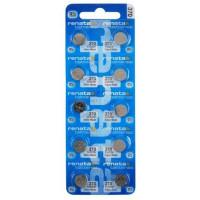 Батарейки для часов RENATA 370 SR920W SR69 1,55 В дисковая 10шт