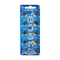 Батарейки для часов RENATA 380 SR936W 1,55 В дисковые 10шт