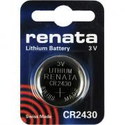 Батарейка RENATA CR2430 3В дисковая литиевая 1шт
