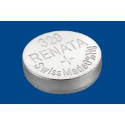 Батарейка для часов RENATA 329 SR731SW 1,55 В дисковая 1шт