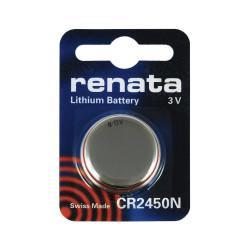 Батарейка RENATA CR2450N 3В дисковая литиевая 1шт