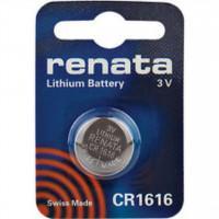 Батарейка RENATA CR1616 3В дисковая литиевая 1шт
