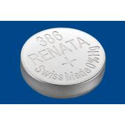 Батарейка для часов RENATA 386 SR43W 1,55В дисковая 1шт