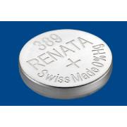 Батарейка для часов RENATA 389 SR1130W 1,55 В дисковая 1шт